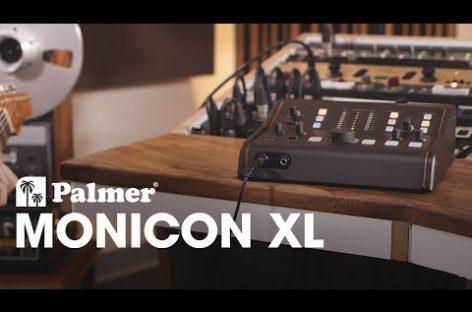 MONICON XL es el nuevo controlador de monitores de estudio de Palmer