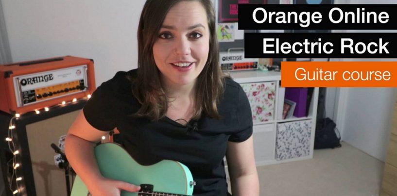 Orange Amplification lanza Orange Rock Guitar Courses