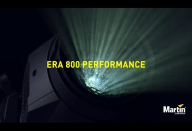 ERA Performance 400, 600 y 800 son las nuevas luminarias Martin by HARMAN