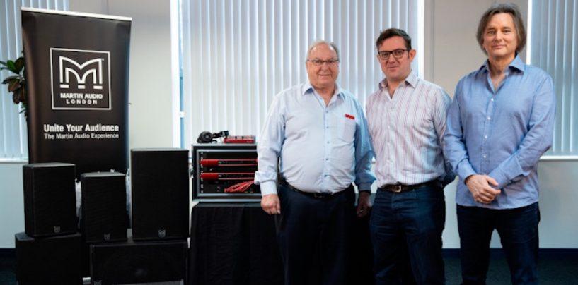 Grupo Focusrite adquiere Martin Audio