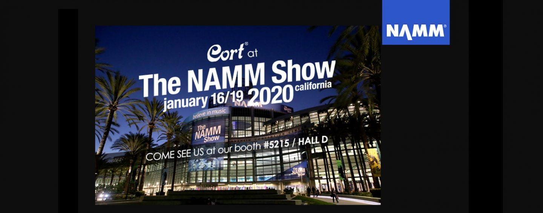 NAMM 2020: Cort lleva a sus artistas a NAMM