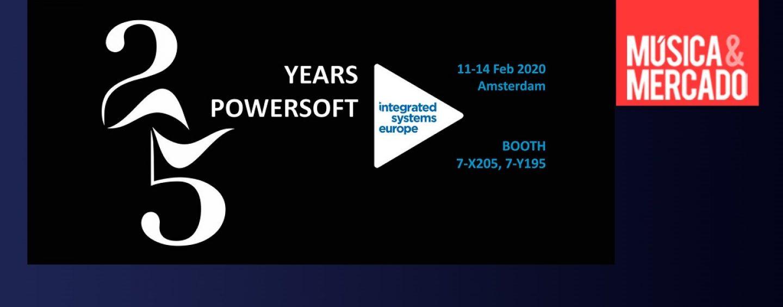 ISE 2020: Powersoft celebra sus 25 años en el evento