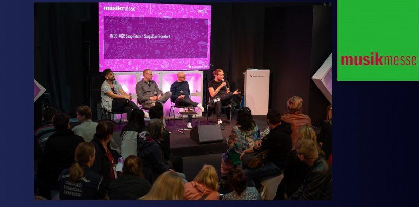 Musikmesse 2020: Los European Songwriting Awards y SongsCon se encuentran en Frankfurt
