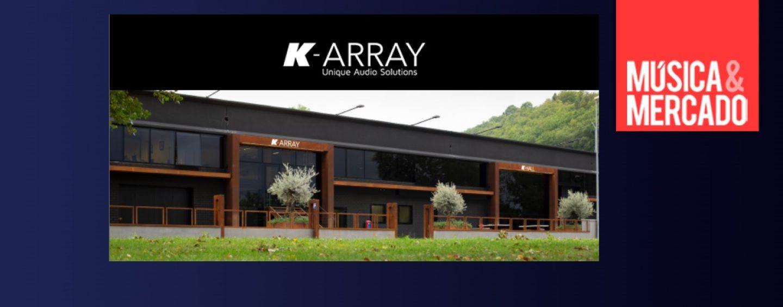 K-array envía mensaje para su familia, amigos y socios