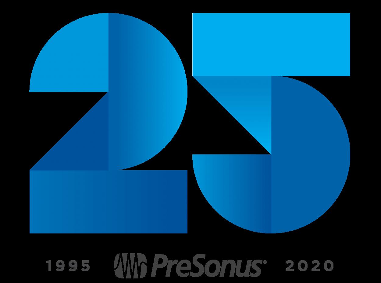 PreSonus-25-Anniversary-Logo